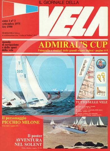 Anno 1, numero 3 – Settembre 1975 TI PIACE QUESTA COPERTINA? CLICCA PER RICHIEDERE SUBITO T-SHIRT, POSTER, ARTICOLI, ABBONAMENTO