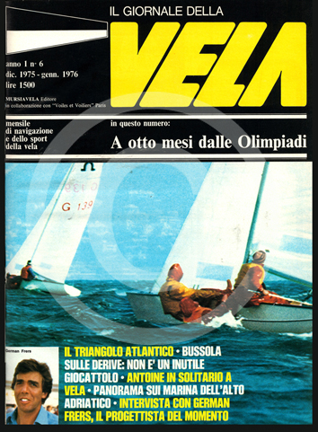 Anno 1, numero 6 – Dicembre 1975-Gennaio 1976 TI PIACE QUESTA COPERTINA? CLICCA PER RICHIEDERE SUBITO T-SHIRT, POSTER, ARTICOLI, ABBONAMENTO