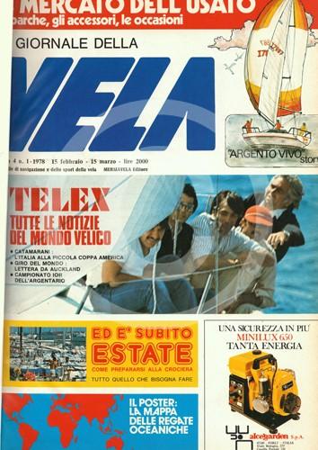 Anno 4 n.1 1978 – 15 Febbraio/15 Marzo