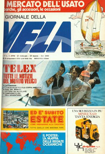 Sommario: Anno 4 n.1 1978 – 15 Febbraio/15 Marzo