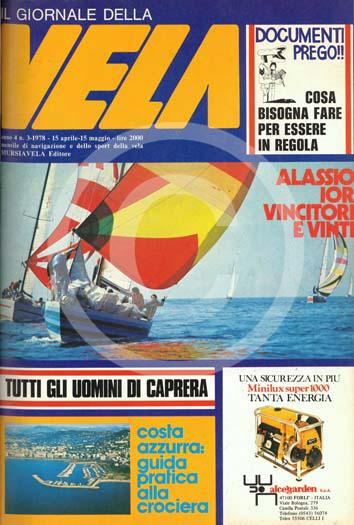 Sommario: Anno 4 n.3  1978 – Aprile/Maggio