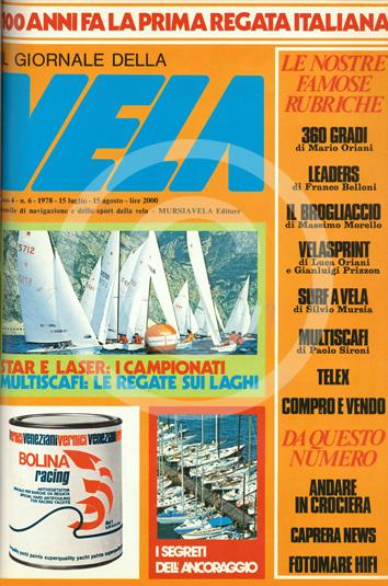 Sommario: Anno 4 n.6 1978 Luglio/Agosto