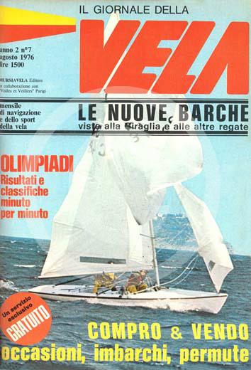 Sommario: Anno II, Numero 7 – Agosto 1976 TI PIACE QUESTA COPERTINA? CLICCA PER RICHIEDERE SUBITO T-SHIRT, POSTER, ARTICOLI, ABBONAMENTO
