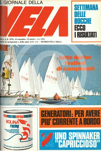 Sommario: Anno 4, numero 8  1978 Settembre/Ottobre