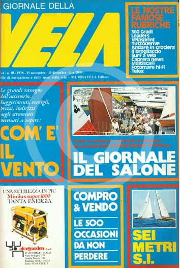 Sommario: Anno 4 n.10 1978 Novembre/Dicembre