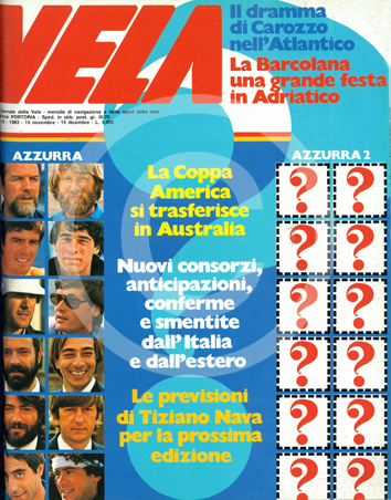 Anno 9 n. 9 Novembre/Dicembre 1983