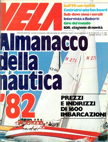 Anno  7, n.12 Dicembre/Gennaio 1981